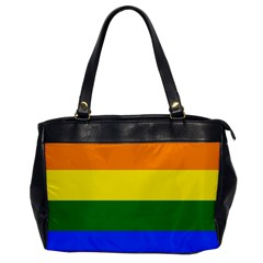 Pride rainbow flag Office Handbags