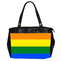 Pride rainbow flag Office Handbags (2 Sides)