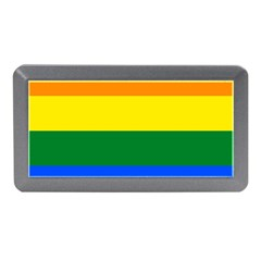 Pride rainbow flag Memory Card Reader (Mini)