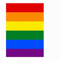 Pride rainbow flag Large Garden Flag (Two Sides)