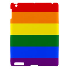 Pride rainbow flag Apple iPad 3/4 Hardshell Case