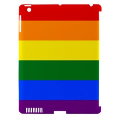 Pride rainbow flag Apple iPad 3/4 Hardshell Case (Compatible with Smart Cover)