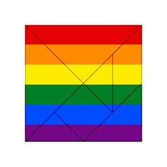 Pride rainbow flag Acrylic Tangram Puzzle (4  x 4 )