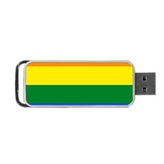Pride rainbow flag Portable USB Flash (One Side)
