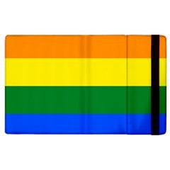 Pride rainbow flag Apple iPad 3/4 Flip Case