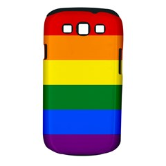 Pride rainbow flag Samsung Galaxy S III Classic Hardshell Case (PC+Silicone)