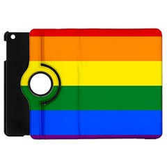 Pride rainbow flag Apple iPad Mini Flip 360 Case