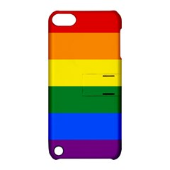 Pride rainbow flag Apple iPod Touch 5 Hardshell Case with Stand