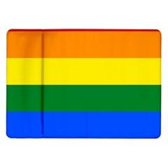 Pride rainbow flag Samsung Galaxy Tab 10.1  P7500 Flip Case