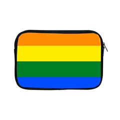 Pride rainbow flag Apple iPad Mini Zipper Cases