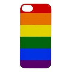 Pride rainbow flag Apple iPhone 5S/ SE Hardshell Case
