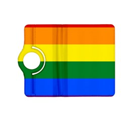 Pride rainbow flag Kindle Fire HD (2013) Flip 360 Case