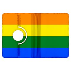 Pride rainbow flag Kindle Fire HDX Flip 360 Case