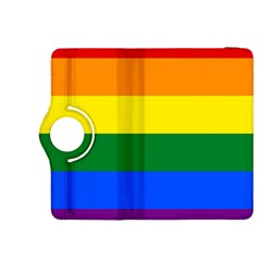 Pride rainbow flag Kindle Fire HDX 8.9  Flip 360 Case