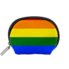Pride rainbow flag Accessory Pouches (Small)