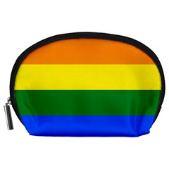 Pride Rainbow Flag Accessory Pouches (large)