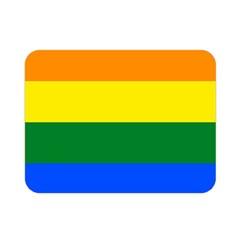 Pride rainbow flag Double Sided Flano Blanket (Mini)