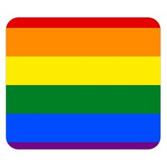 Pride rainbow flag Double Sided Flano Blanket (Small)