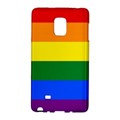 Pride rainbow flag Galaxy Note Edge