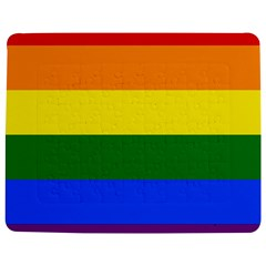 Pride rainbow flag Jigsaw Puzzle Photo Stand (Rectangular)