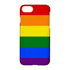 Pride rainbow flag Apple iPhone 7 Hardshell Case