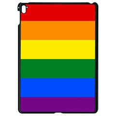 Pride rainbow flag Apple iPad Pro 9.7   Black Seamless Case