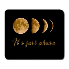 Moon phases  Large Mousepads