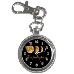 Moon phases  Key Chain Watches