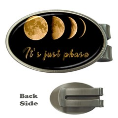 Moon phases  Money Clips (Oval)