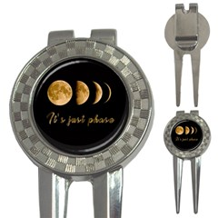 Moon phases  3-in-1 Golf Divots