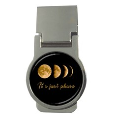 Moon phases  Money Clips (Round)