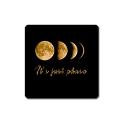 Moon phases  Square Magnet