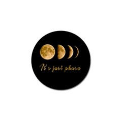 Moon phases  Golf Ball Marker (4 pack)