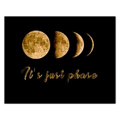 Moon phases  Rectangular Jigsaw Puzzl