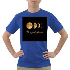 Moon phases  Dark T-Shirt