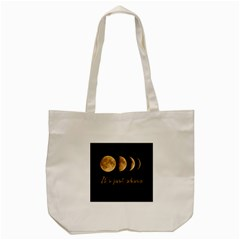 Moon phases  Tote Bag (Cream)