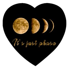 Moon phases  Jigsaw Puzzle (Heart)