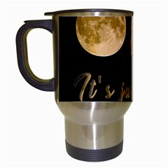 Moon phases  Travel Mugs (White)