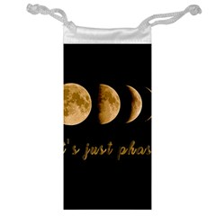 Moon phases  Jewelry Bag