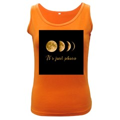 Moon phases  Women s Dark Tank Top