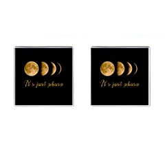 Moon phases  Cufflinks (Square)
