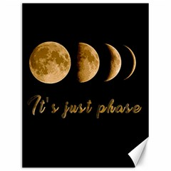 Moon phases  Canvas 12  x 16