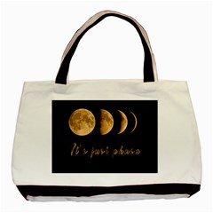 Moon phases  Basic Tote Bag (Two Sides)