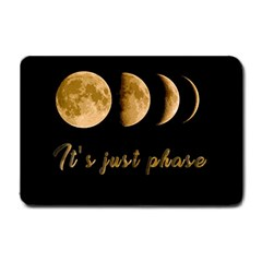 Moon phases  Small Doormat