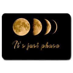 Moon phases  Large Doormat