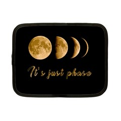 Moon phases  Netbook Case (Small)