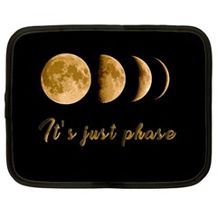 Moon phases  Netbook Case (Large)