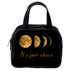 Moon phases  Classic Handbags (One Side)