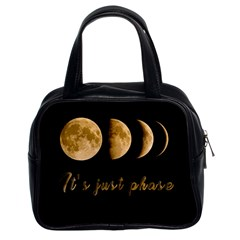 Moon phases  Classic Handbags (2 Sides)