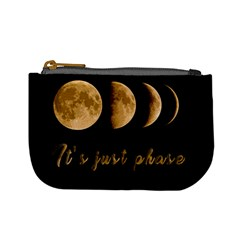 Moon phases  Mini Coin Purses